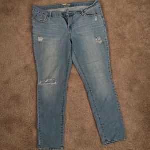 Old Navy the Flirt Distressed Jeans